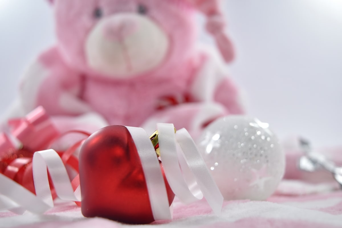 celebration, love, new year, ornament, pink, thread, romance, indoors, still life, vacation