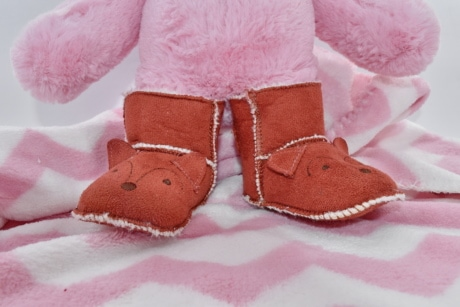baby, boots, footwear, newborn, plush, teddy bear toy, fashion, love, toy, homemade