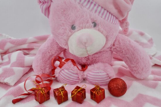 gift, gifts, ornament, pinkish, toys, teddy bear toy, handmade, toy, traditional, cute