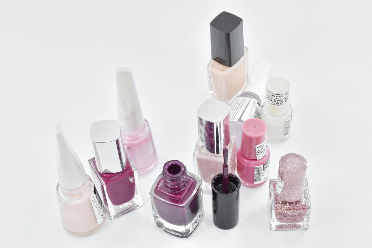 Četka, šareno, kozmetika, higijena, manikura, šminka, ruž za usne, kozmetika, liječenje, kozmetika