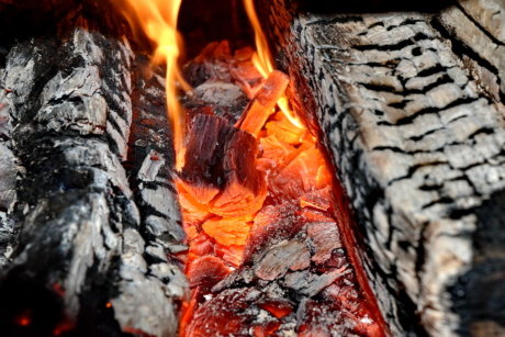 bright, burn, fire, heat, smoke, ash, firewood, charcoal, coal, hot