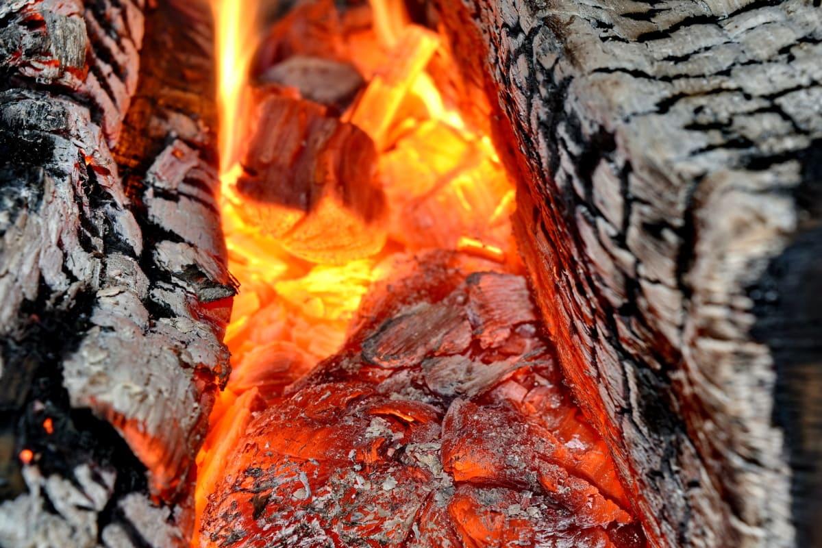 fire, flames, heat, smoke, flame, hot, burn, firewood, coal, fireplace
