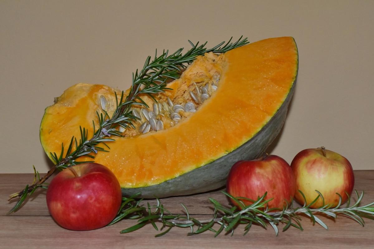 apples, culinary, pumpkin, pumpkin seed, spice, twig, vitamins, produce, fruit, vegetable