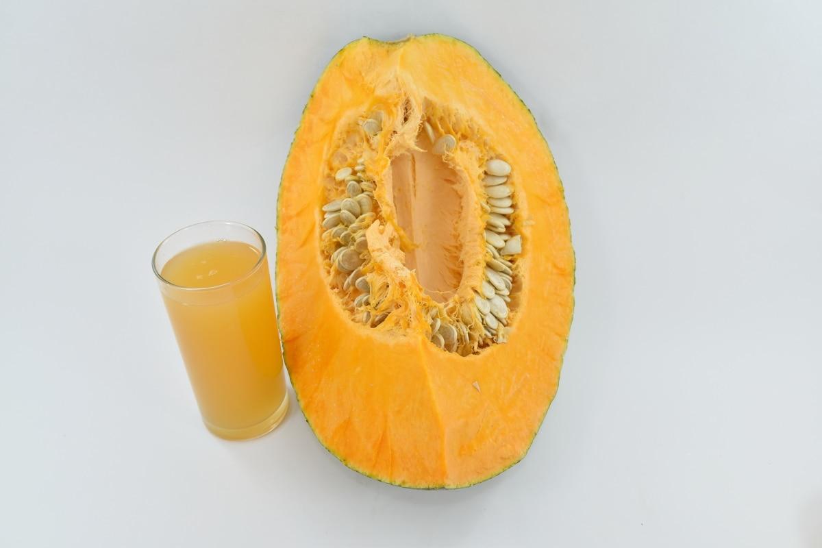 beverage, juice, pumpkin, pumpkin seed, syrup, vitamin, sweet, orange, fruit, healthy