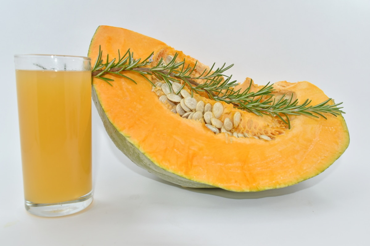 beverage, juice, pumpkin seed, slice, pumpkin, fruit, food, squash, healthy, nutrition
