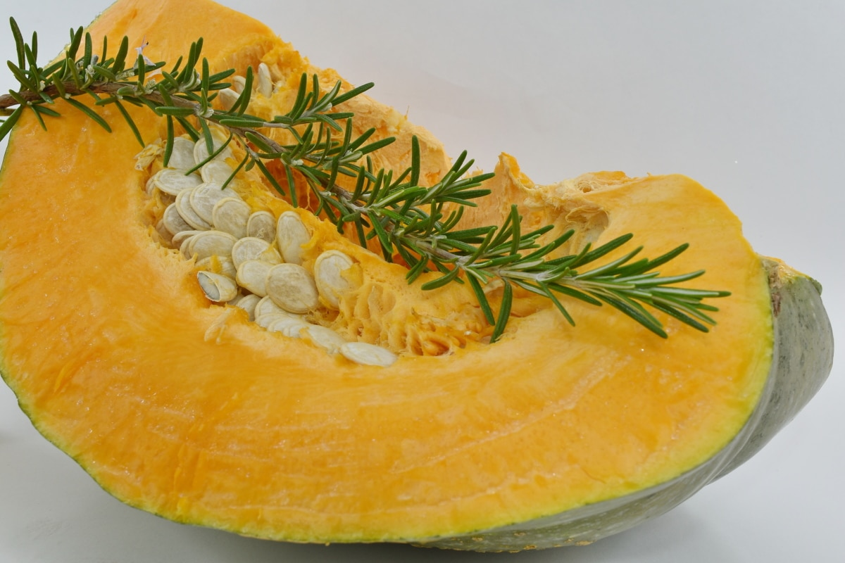 organic, pumpkin, pumpkin seed, rosemary, twig, food, vegetable, nutrition, cooking, health