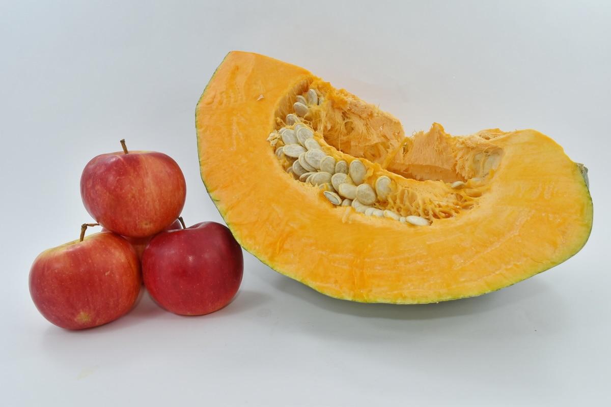 apples, organic, pumpkin, pumpkin seed, fruit, food, healthy, vitamin, juice, still life