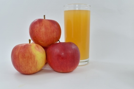apples, fruit cocktail, fruit juice, healthy, syrup, vitamins, vitamin, sweet, fruit, diet