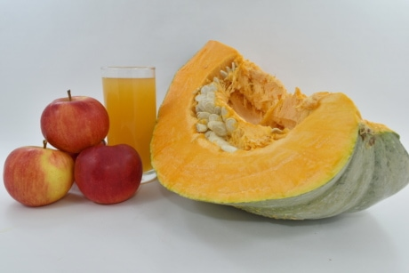 apples, fruit juice, pumpkin, pumpkin seed, vegetable, healthy, food, fruit, fresh, vitamin