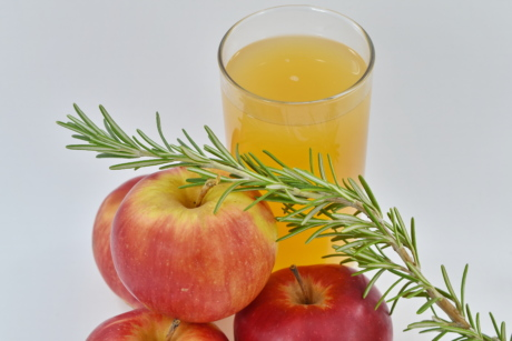 rosemary, twig, fruit, fresh, food, diet, healthy, vitamin, apple, juice
