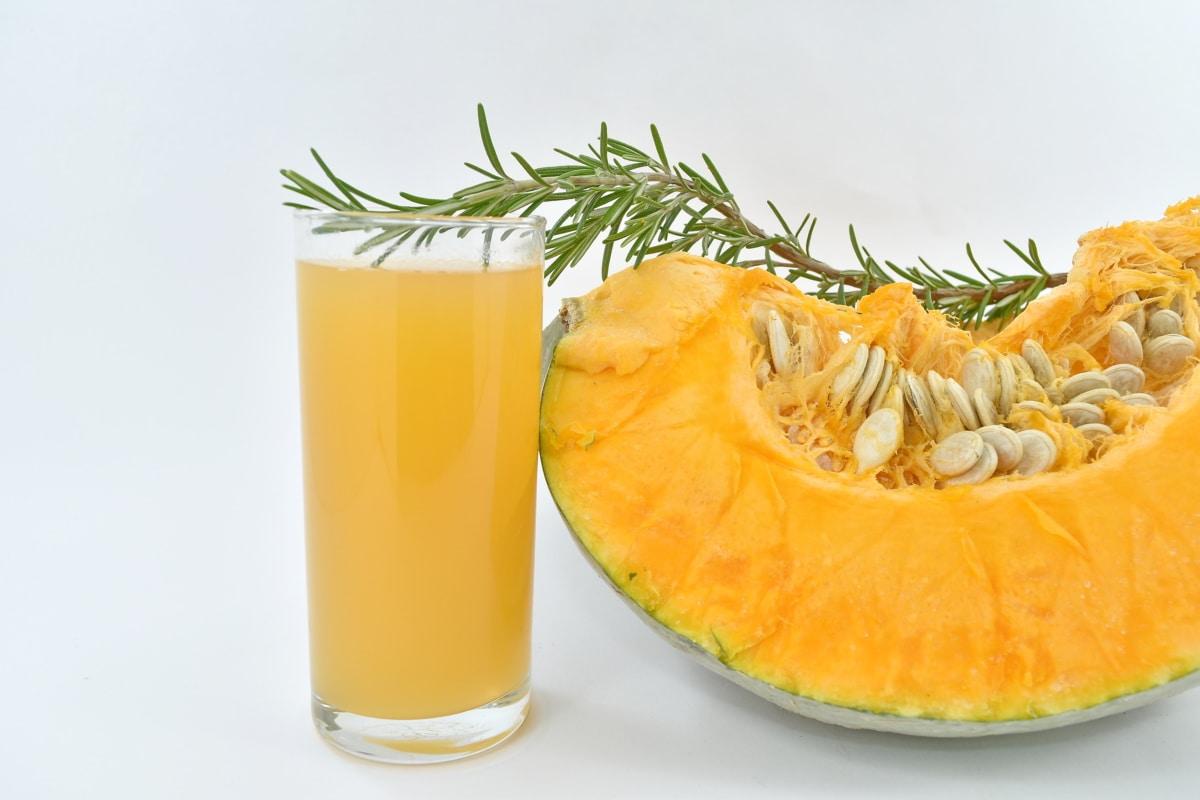 beverage, juice, organic, pumpkin, pumpkin seed, rosemary, healthy, food, glass, fruit