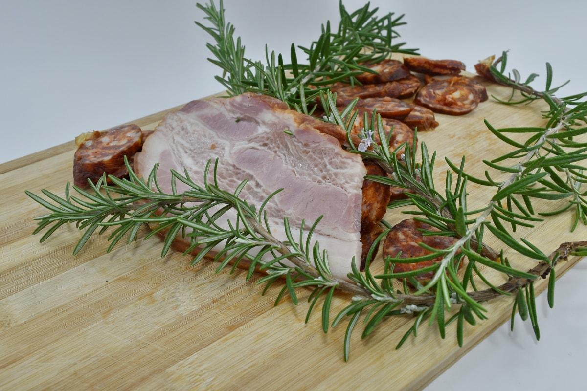 Cholesterin, Fett, Filet, hausgemachte, Mittagessen, Protein, Wurst, garnieren, Abendessen, Essen