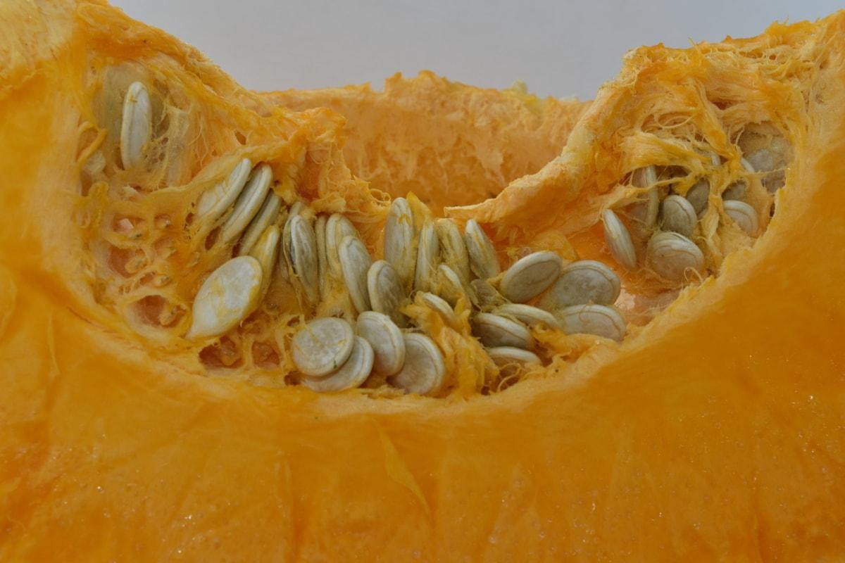 pomarańczowy, żółty, Dynia, nasiona dyni, materiał siewny, zdusić, warzyw, produkcji, jedzenie, tradycyjne, zdrowie