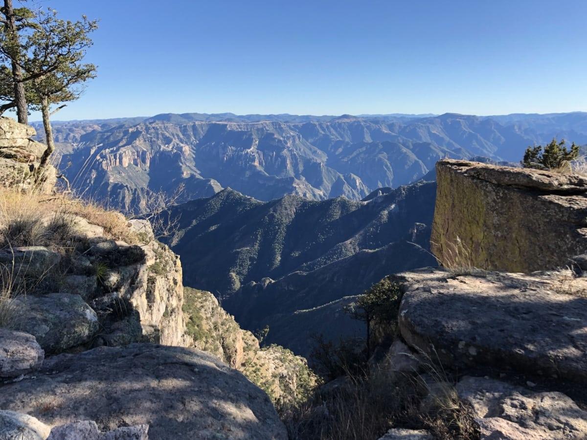 Megalith, panoráma, údolí, Hora, hory, krajina, skála, příroda, venku, útes