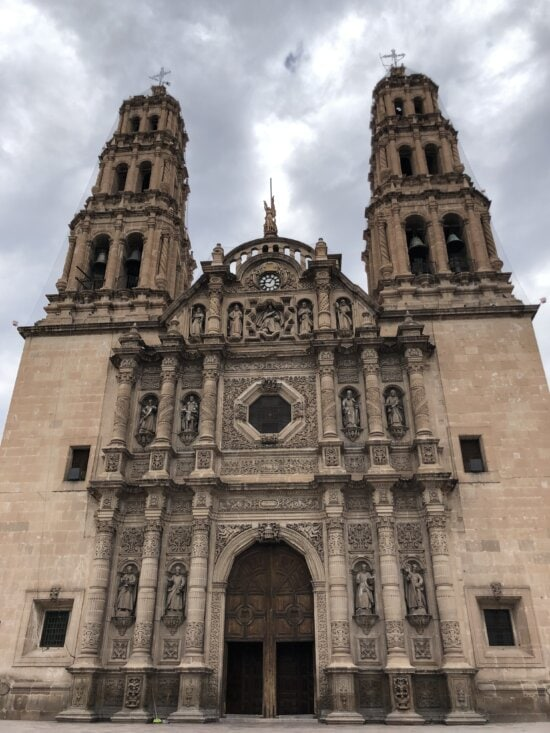 Asia, baroque, cathedral, catholic, front door, gothic, architecture, church, religion, facade