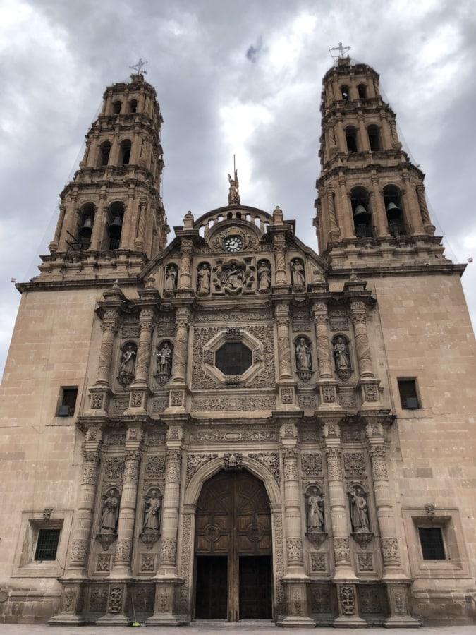 Asia, barokk, katedralen, katolske, inngangsdør, Gotisk, arkitektur, kirke, religion, fasade