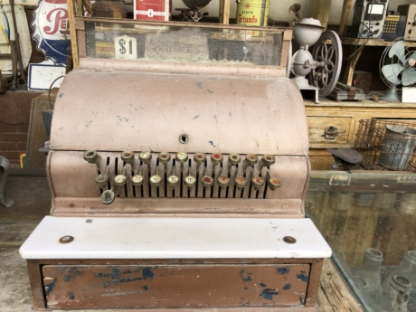 antiquity, cash register, historic, machine, old, old fashioned, store, antique, vintage, retro