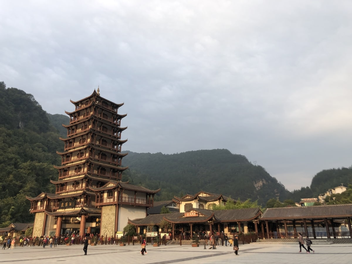 castle, China, chinese, crowd, heritage, palace, patio, tourism, tourist attraction, temple
