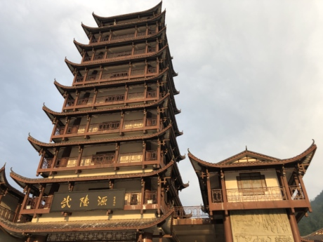 building, castle, China, chinese, facade, tower, temple, architecture, religion, old