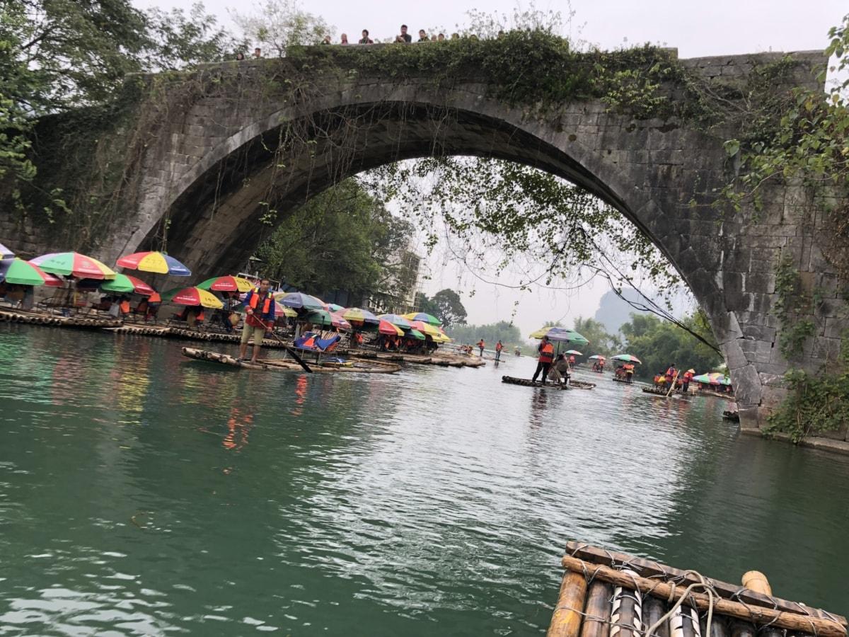 arches, pont, foule, écotourisme, événement, gondole, rafting, Tourisme, Tourisme, voyage