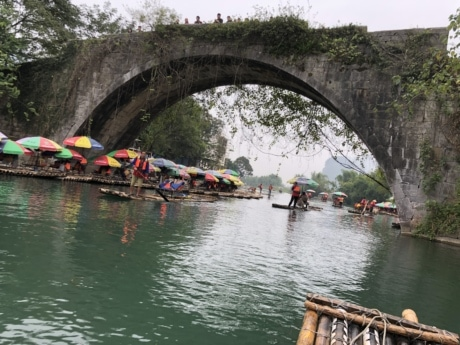 arches, bridge, crowd, ecotourism, event, gondola, rafting, tourism, tourist, travel