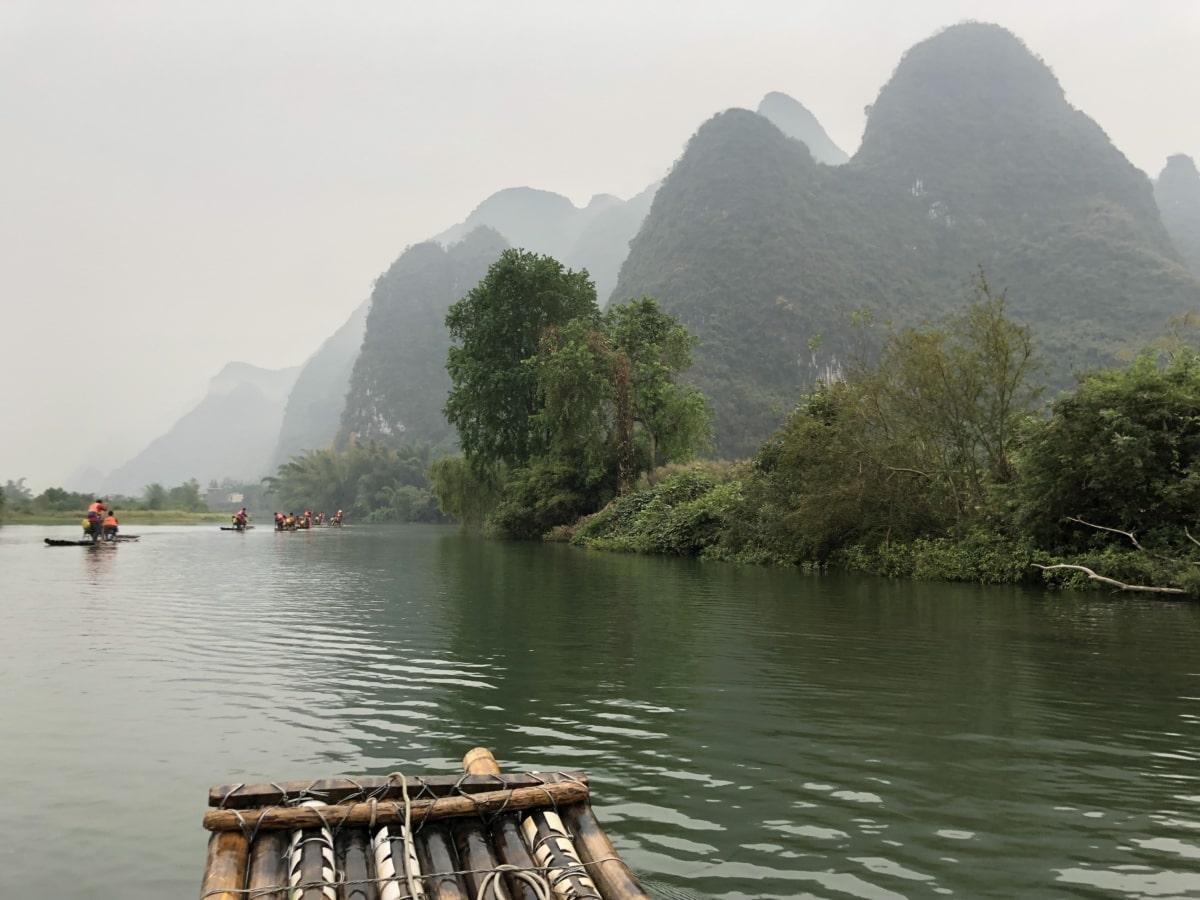 écotourisme, rafting, rural, Tourisme, attraction touristique, nature, eau, paysage, rive, canal