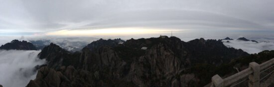 đám mây, sương mù, nhìn ra, toàn cảnh, danh lam thắng cảnh, Thung lũng, hẻm núi, khe núi, vách đá, hoàng hôn