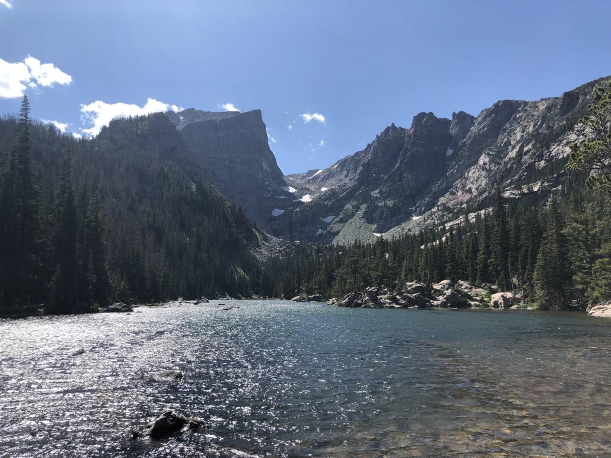 lake, river, river basin, United States, range, glacier, mountains, basin, mountain, water