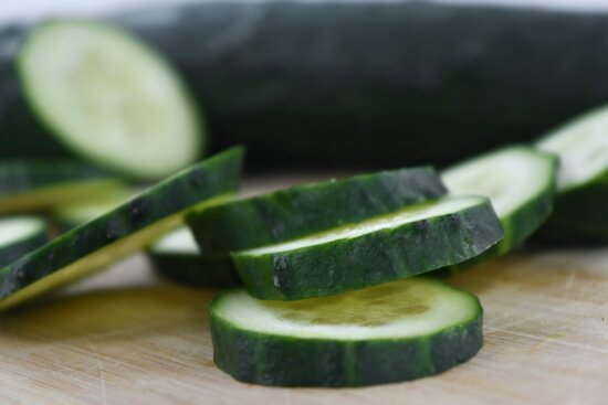 cross section, cucumber, slices, produce, health, vegetable, nature, leaf, food, ingredients