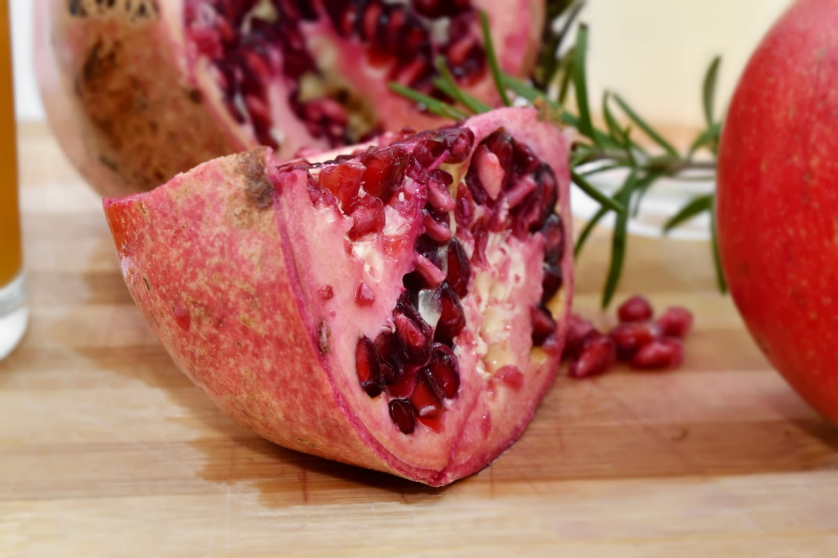 antioxidant, kernel, pomegranate, seed, slices, food, fruit, health, delicious, nutrition