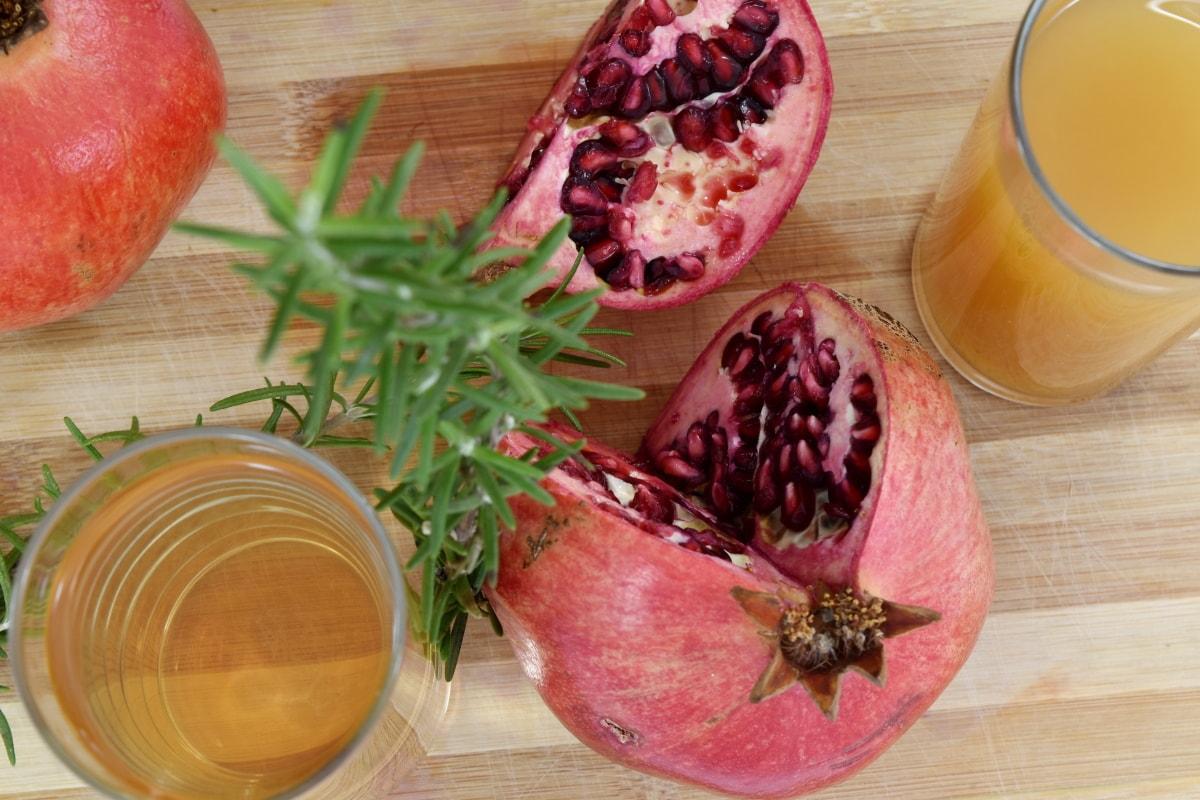 antioxidant, fresh, fruit cocktail, healthy, seed, tasty, pomegranate, food, produce, fruit