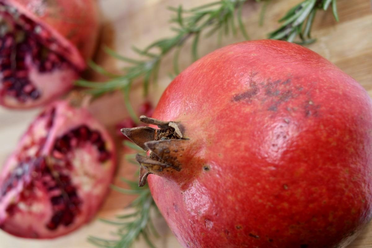 antioksidans, egzotično, fokus, organsko, nar, tropsko, proizvod, jabuka, zdravo, voće