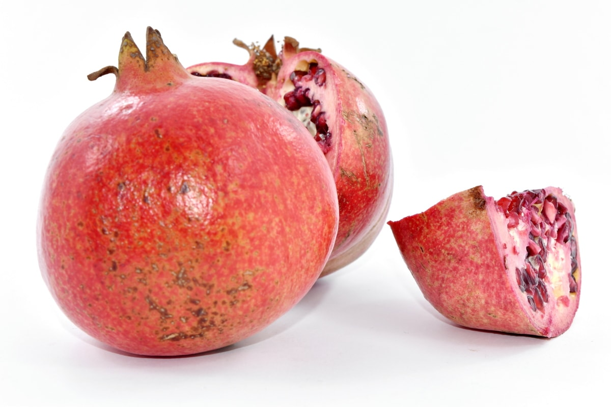 fresh, healthy, food, fruit, diet, sweet, pomegranate, organic, produce, tropical