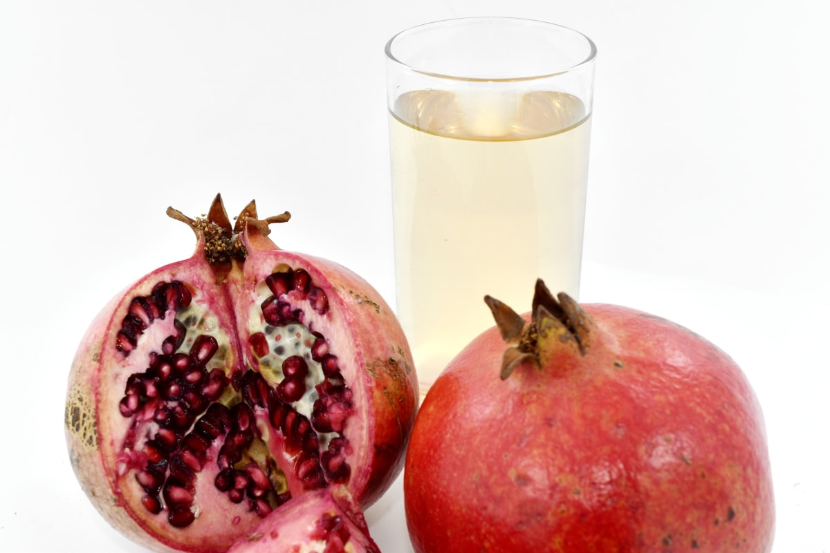 beverage, fruit cocktail, juice, pomegranate, food, fruit, produce, fresh, tropical, health