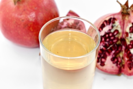 juice, liquid, pomegranate, syrup, tropical, glass, health, food, drink, beverage
