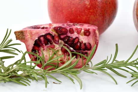 details, rosemary, food, pomegranate, fruit, health, delicious, ingredients, nutrition, vitamin