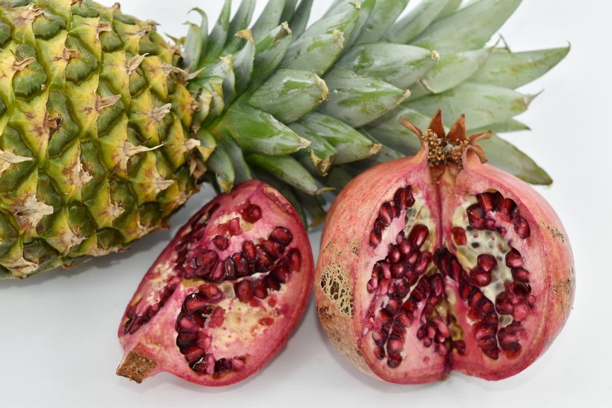 antioxidant, exotic, kernel, pineapple, seed, tropic, fruit, fresh, food, tropical