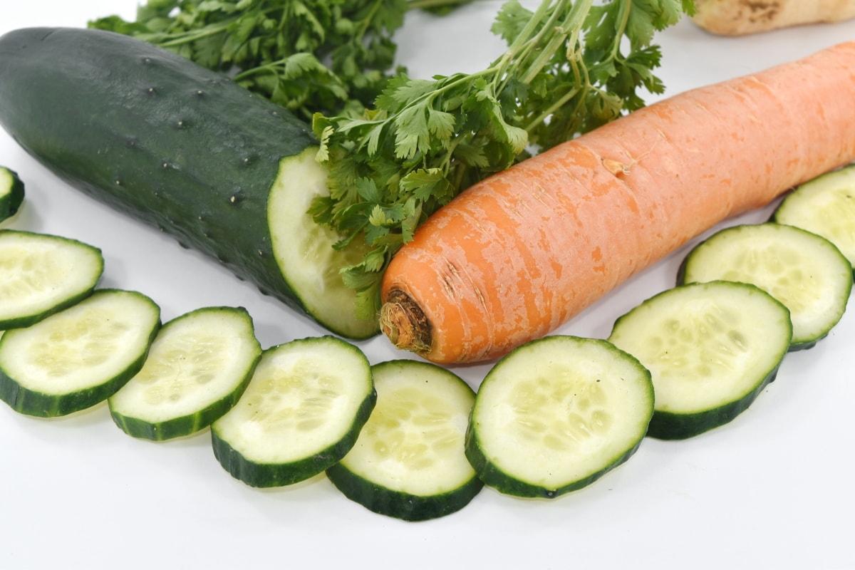 antioxidant, carrot, garnish, parsley, vegetables, vegetarian, salad, vegetable, diet, food