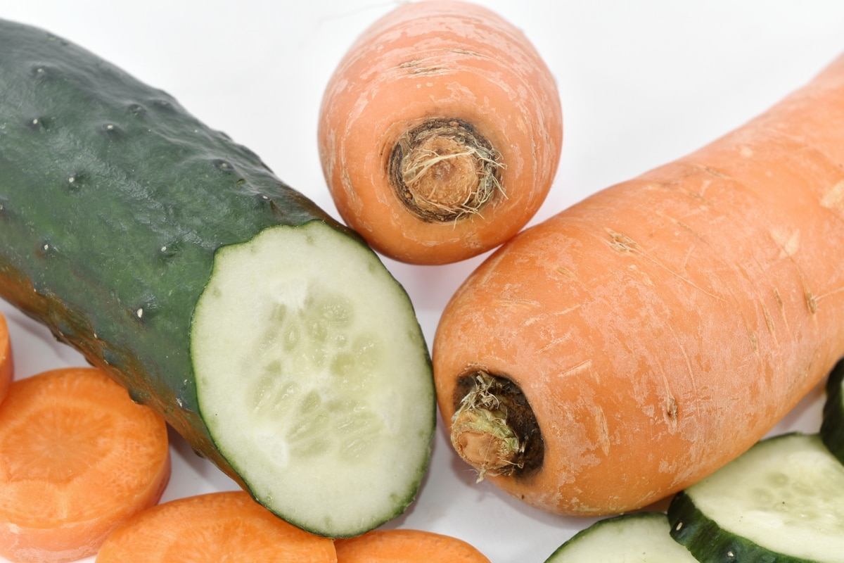 vegetable, produce, food, carrot, health, nutrition, ingredients, leaf, nature, delicious