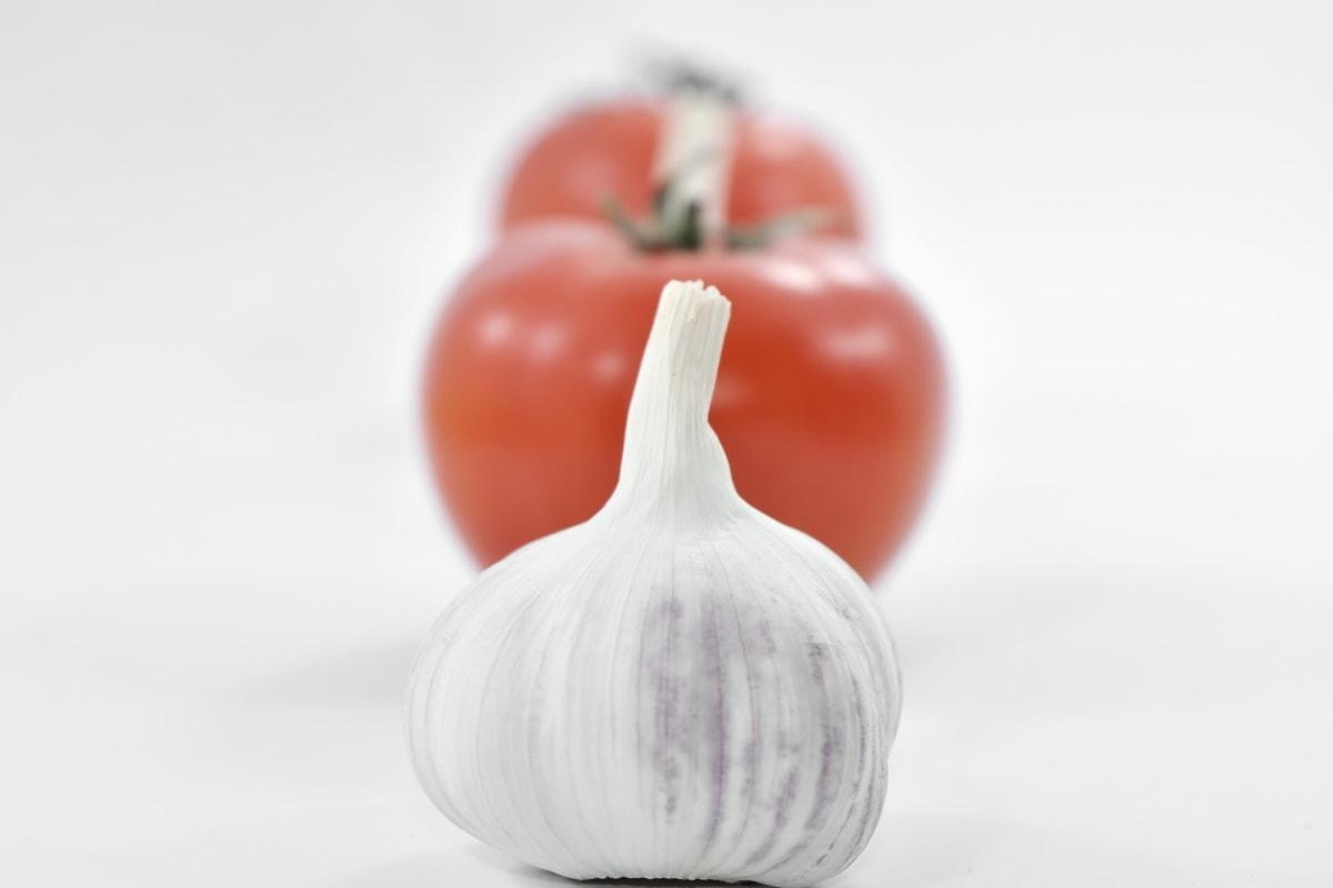 tomatoes, organic, garlic, still life, vegetarian, spice, vegetable, food, ingredients, health