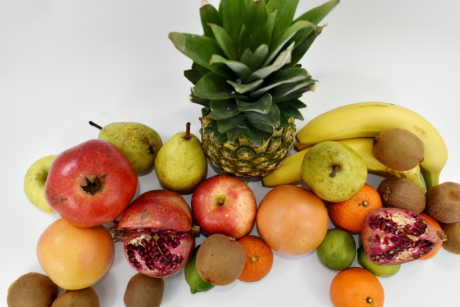 banana, grapefruit, pineapple, fruit, food, fresh, apple, orange, healthy, produce