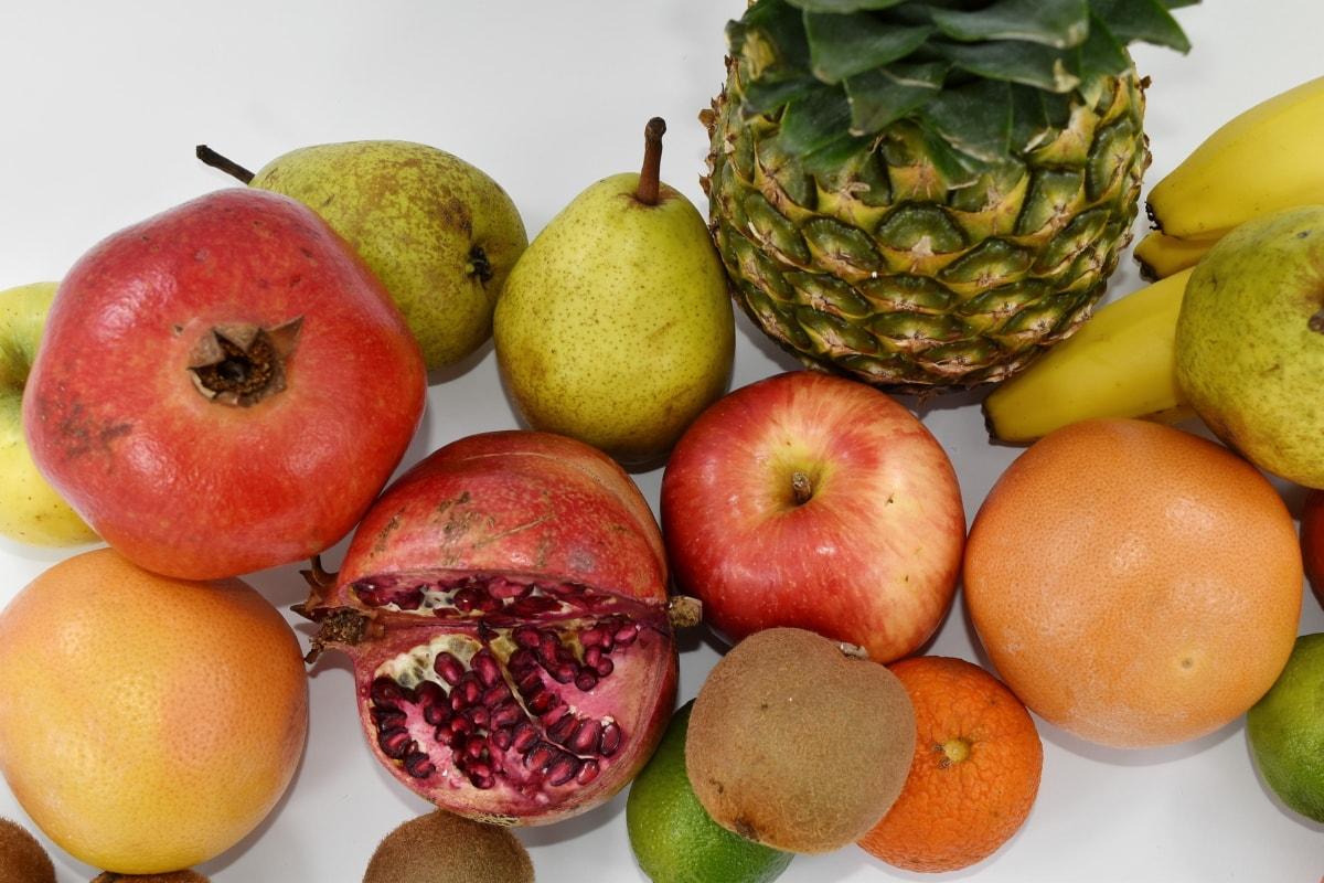 apple, pineapple, healthy, fruit, food, produce, health, fresh, nutrition, juice