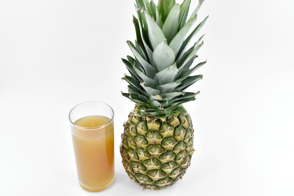 exotic, food, fresh, fruit juice, liquid, meal, pineapple, tropical, plant, fruit