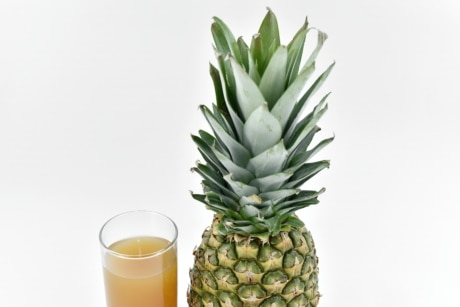 beverage, fresh, fruit juice, pineapple, fruit, tropical, produce, food, juice, plant