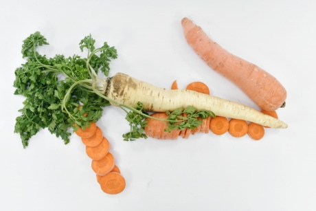 carrot, cooking, parsley, healthy, food, root, meal, vegetable, health, nutrition