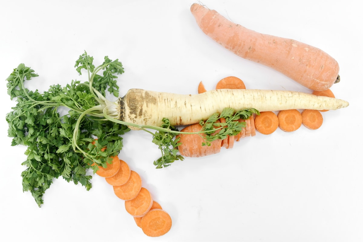 food, spice, root, carrot, health, vegetable, parsley, healthy, nutrition, leaf