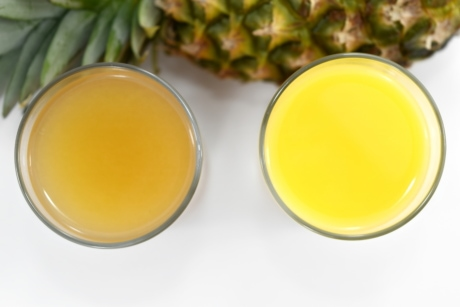 fruit juice, glass, pineapple, syrup, drink, juice, tropical, breakfast, health, food