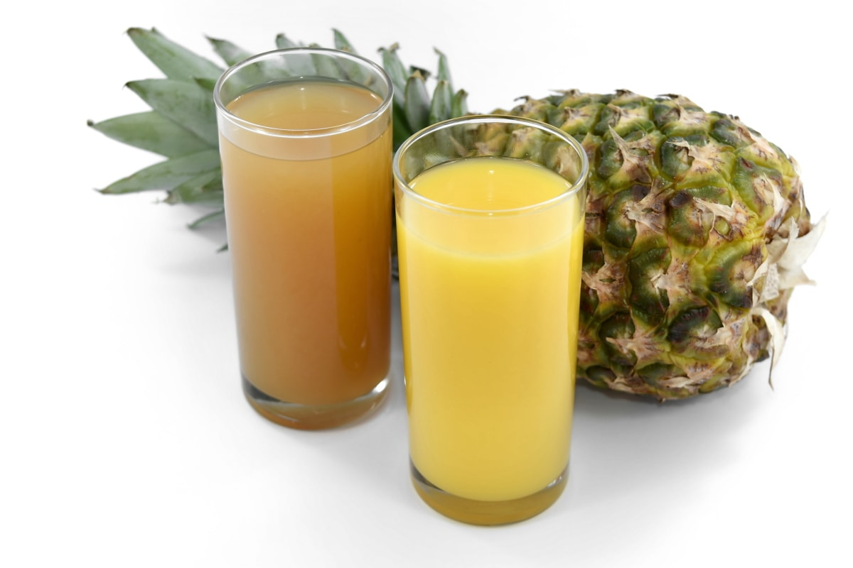 antibiotic, antioxidant, antitoxin, fruit custard, fruit juice, juice, pineapple, syrup, liquid, beverage