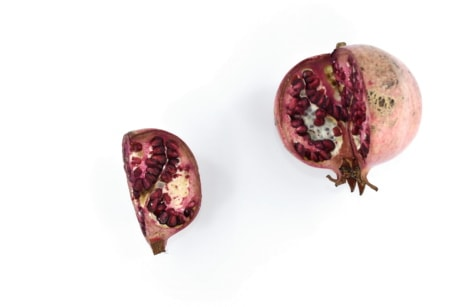exotic, pomegranate, ripe fruit, seed, tropical, fruit, food, nature, nutrition, bright