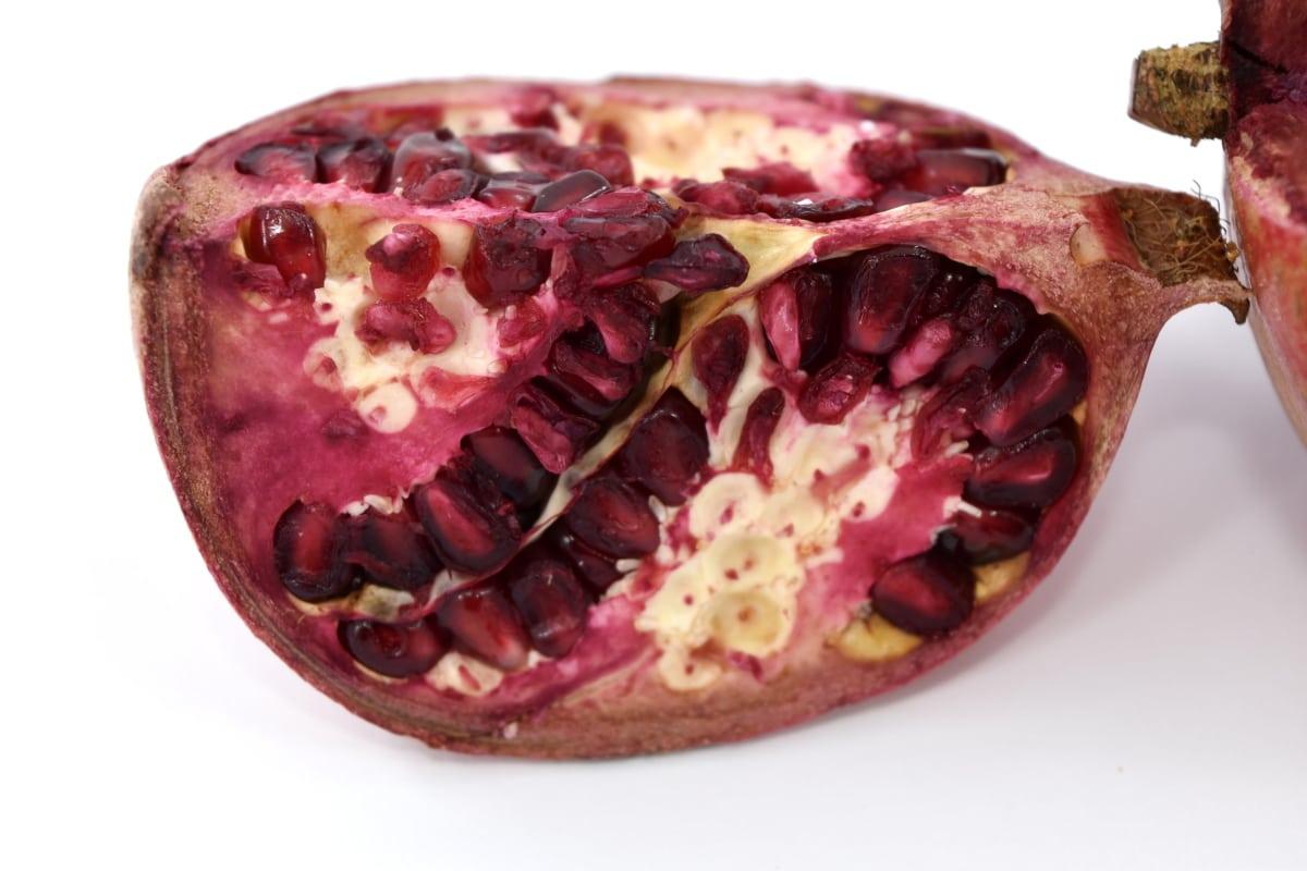 calorie, citrus, fresh, minerals, pomegranate, ripe fruit, seed, vitamins, produce, fruit